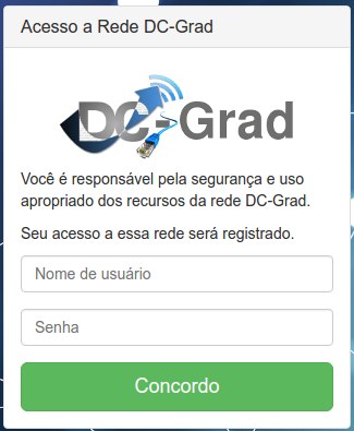 captive portal do DC-Grad